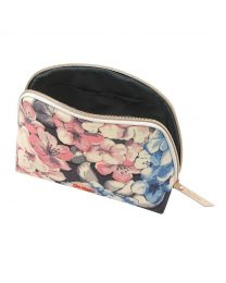 Rhododendron Curved Top Cosmetic Bag