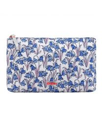 Bluebells Matt Zip Cosmetic Bag