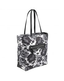 Peony Blossom Aster Tote