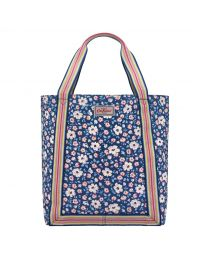 Island Flowers Reverse Coated Tote