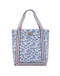Bluebells Reverse Coated Tote