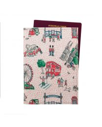 Small London Spots Passport Holder