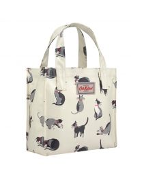 Painted Cats Small Bookbag