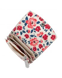 Island Flowers Concertina Fold Over Card Wallet