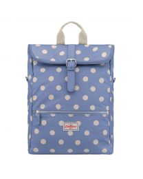 Button Spot Folded Top Backpack