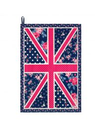 Birthday Flag Placement Tea Towel