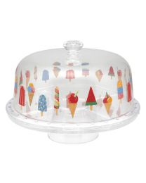 Little Ice Cream Plastic Cake Stand