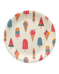 Little Ice Cream Melamine Plate
