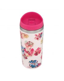 Guernsey Flowers Closure Lid Travel Cup