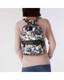 Peony Blossom Aster Backpack