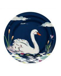Swan Tea Plate