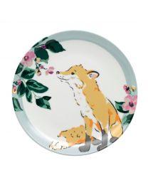 Fox Tea Plate