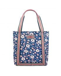 Island Flowers Mini Reverse Coated Tote