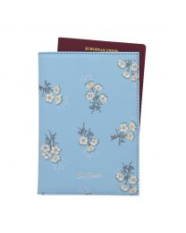 Small Buttercup Bunch Printed Leather Passport Holder