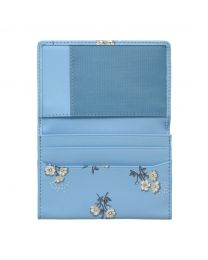Small Buttercup Bunch Printed Leather Business Card Holder