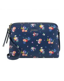 Busby Bunch Printed Medium Leather Duo Cross Body