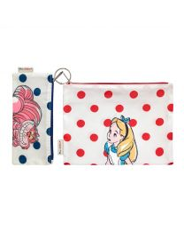 Alice and Friends Disney Set of Two Poly Pouch