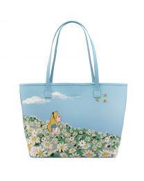 Alice's Meadow Disney Placement Applique Tote