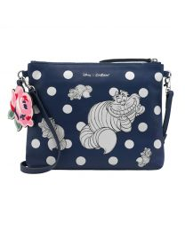 Cheshire Cat Disney Perforated Cross Body
