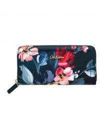 Paintbox Flowers Continental Zip Wallet