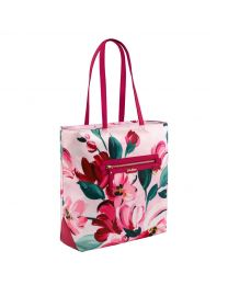 Large Paintbox Flowers Aster Tote