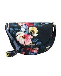 Paintbox Flowers Stratton Saddle Bag