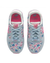 New Balance Mews Ditsy Kids Girls Laced Trainer