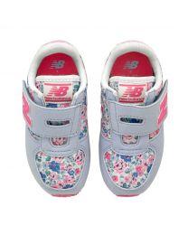 New Balance Mews Ditsy Kids Girls Velcro Trainer
