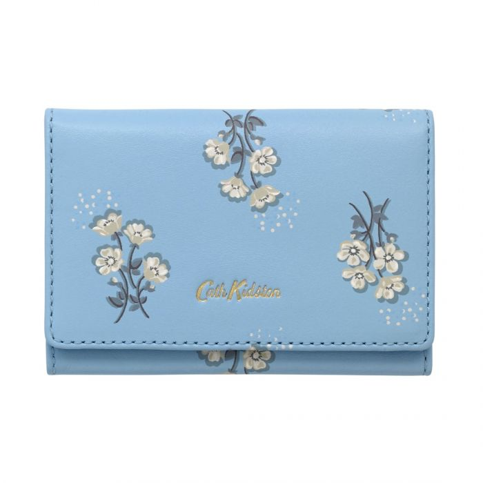 Small buttercup bunch printed leather business card holder colourmoves
